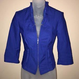 White House Black Market royal blue blazer
